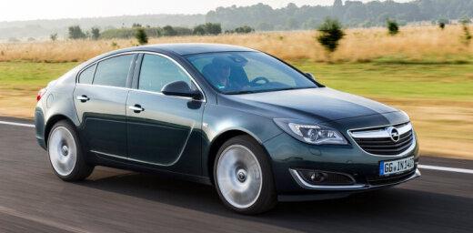 Vācija liek atsaukt 73 000 'Opel' dīzeļautomobiļu