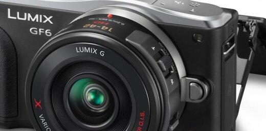 Jauna 'Panasonic' maināmo objektīvu kompaktkamera 'GF6'
