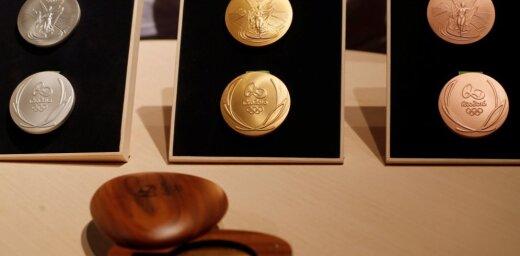 Более сотни медалей ОИ-2016 покрылись ржавчиной