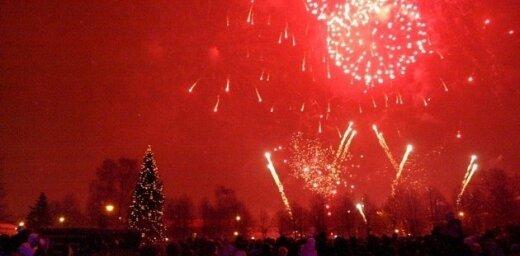 Ventspilī Jauno gadu sagaida 00:33