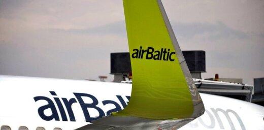 Pasažieru datu reģistra izmaksas aviokompānijām segs klienti, atzīst 'airBaltic'
