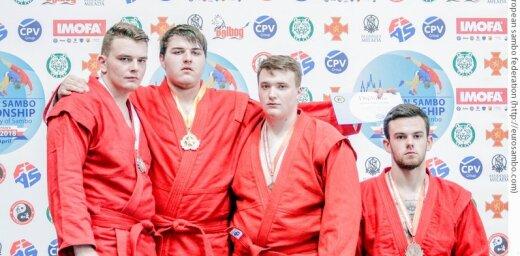 Латвийский самбист стал чемпионом Европы среди юношей