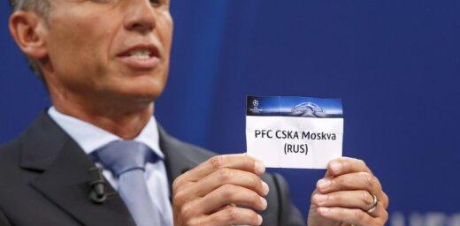 Московский ЦСКА узнал соперника по раунду плей-офф Лиги чемпионов