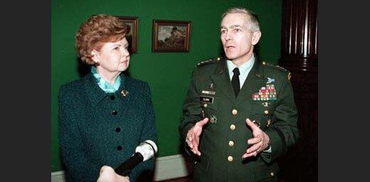 Вайра Вике-Фрейберга и Уэсли Кларк