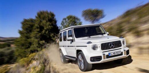 'Mercedes' jaunās G-klases sportiskā versija: 4,5 sekundēs līdz 'simtam'