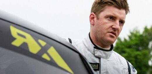 'World RX' startēs komanda ar Latvijas licenci un britu pilotu Gaju Vilksu