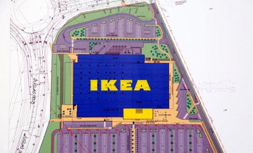 ФОТО. Рижская IKEA отметила праздник стропил: как она выглядит изнутри