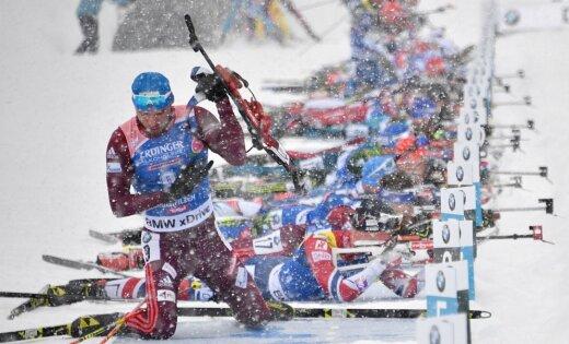 Фуркад «обокрал» русского биатлониста вгонке преследования наКубке мира