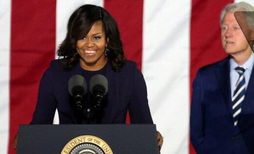 Мишель Обама сообщила, что непойдет вполитику из-за детей