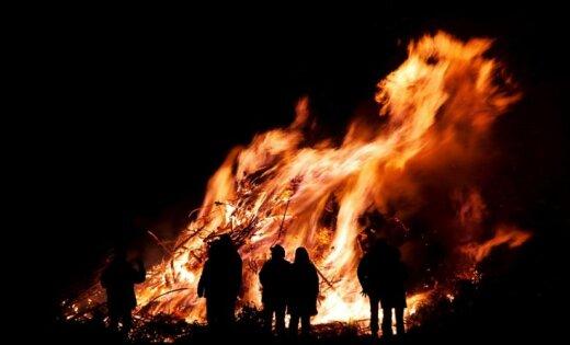 В Гарупе сгорел жилой дом