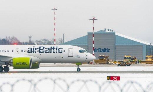 'airBaltic' četros mēnešos pārvadā par 22% pasažieru vairāk