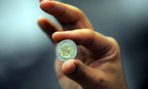 Vācijā sākta Latvijas eiro monētu kalšana