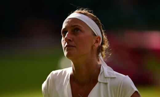 Пострадавшая от преступника теннисистка Квитова поведала овозвращении накорт