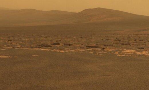 """Марсоход """"Оппортьюнити"""" накрыло пылевым штормом. Работа ровера под угрозой"""