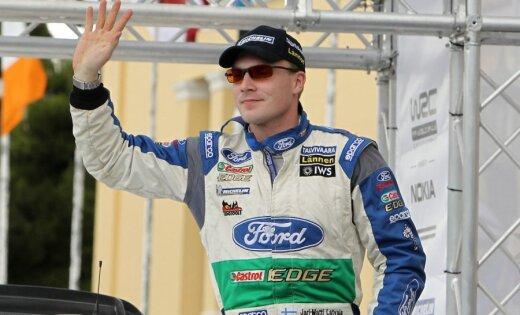 Ford' WRC komandas pilots Jari-Mati Latvala startēs 'auto24 Rally Estonia'