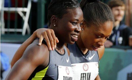 ASV olimpiskās komandas dalībnieci varētu nākties noskaidrot ar monētas mešanas palīdzību