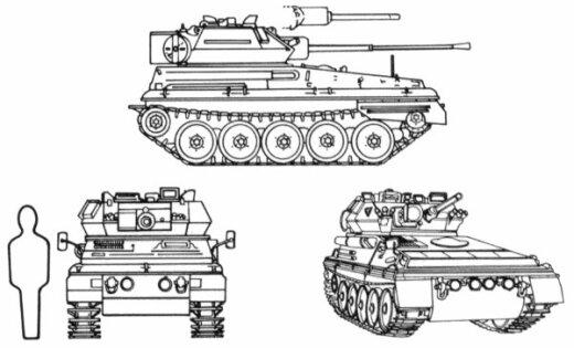 Латвия за 70 миллионов купит подержанную британскую бронетехнику