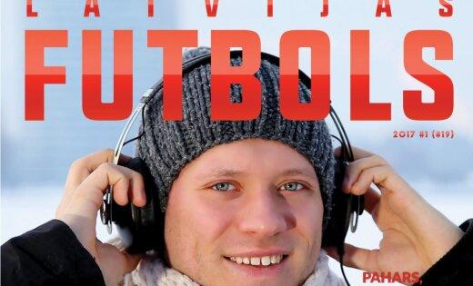 Ralfs Eilands, Juris Laizāns un Andris Treimanis galvenie varoņi jaunākajā 'Latvijas Futbols' numurā