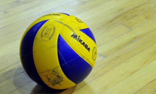 Latvijas vīriešu volejbola izlase pārbaudes mačā revanšējas Grieķijai