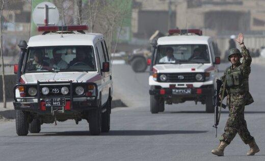 Вцентре Кабула в 1-ый день нового года произошёл сильный взрыв