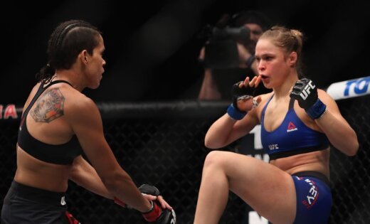 UFC: Аманда Нуньес впервом раунде нокаутировала легендарную Ронду Роузи