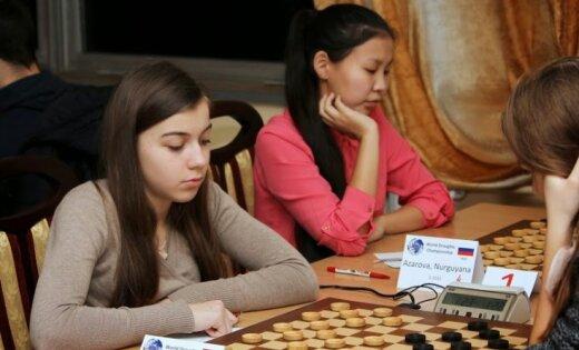 Юная рижская шашистка — чемпионка мира среди кадетов