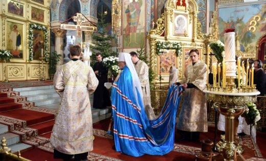 ФОТО: Рождественская служба в Риге