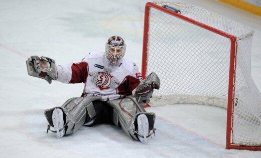 Rīgas 'Dinamo' hokejistiem zaudējums Ņižņijnovgorodas apgabala gubernatora kausa izcīņas finālmačā