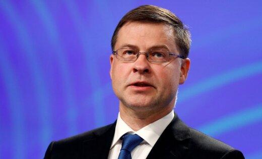 Валдис Домбровскис: биткоин - это не криптовалюта