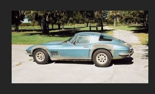 Corvette первого человека на Луне выставлен на аукцион