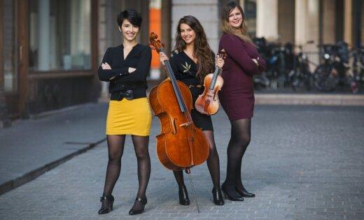 Pētera Vaska fonda koncertā Mazajā Mežotnes pilī muzicēs 'Trio Sōra'