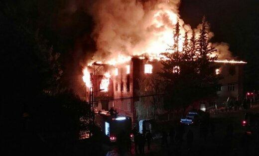 Кошмарный пожар вТурции забрал жизни 11 девушек