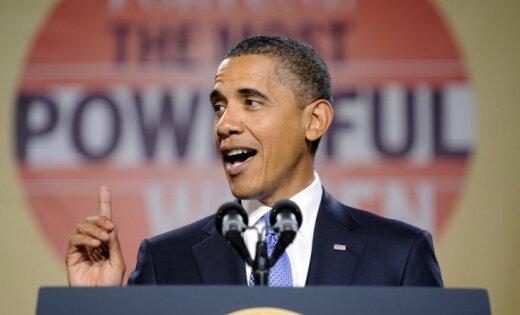 Obama kandidēs uz ASV prezidenta posteni arī otrajā termiņā