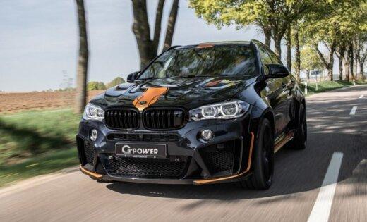 'G-Power' pārbūvējis 'BMW X6' ar 750 ZS jaudu