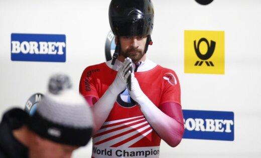 Красноярский скелетонист Никита Трегубов стал призёром чемпионата мира