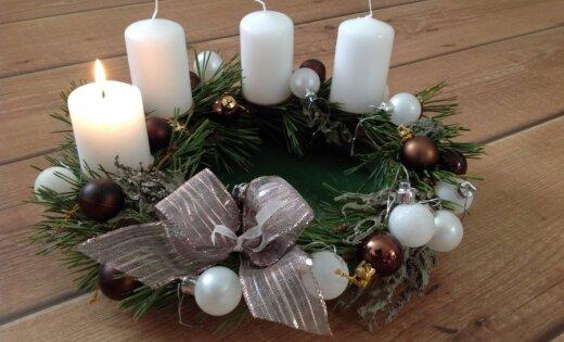 Adventes laiks: Parādi 'Delfi aculieciniekam' pašdarinātos svētku dekorus