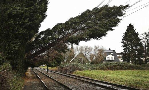 В воскресенье ветер усилится почти до бури, возможен град