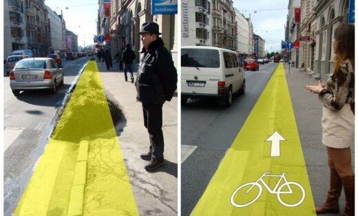 Tikai nesakiet, ka Rīgas ielās nav vieta veloceliņiem!
