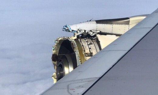 'Air France' lidmašīna dzinēja problēmu dēļ veic ārkārtas nolaišanos Kanādā
