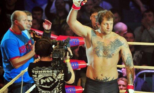 ВИДЕО: Александр Емельяненко нокаутировал чеха и попросился в UFC