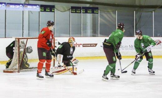 Savainojumi ievieš korekcijas Latvijas hokeja izlases sastāvā dalībai turnīrā Dānijā
