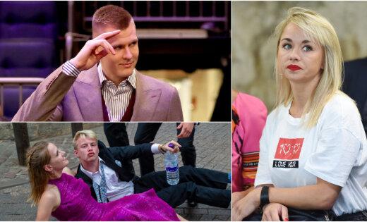Nedēļas trakumi: Porziņģa atpūta Ivisā, brīvā meitene Andrejeva un britu vētrainās izklaides