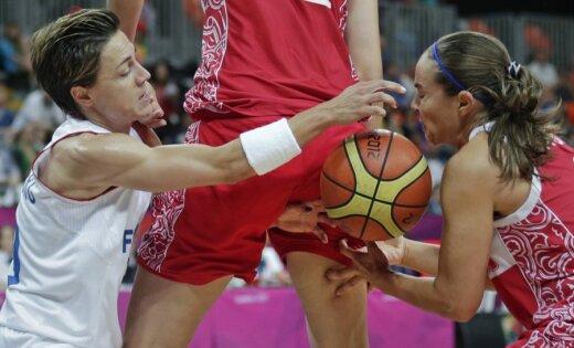 XXX Vasaras olimpisko spēļu sieviešu basketbola turnīra spēļu rezultāti (05.08.2012)