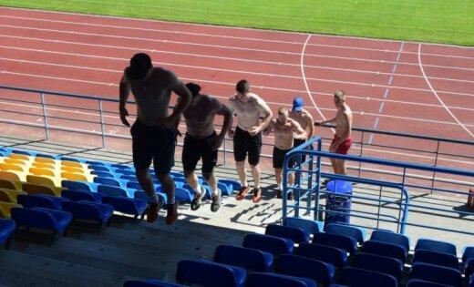 Foto: Latvijas bobsleja izlase liek pamatus olimpiskajai sezonai