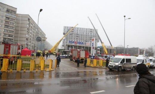 """Девелопер """"замораживает"""" стройку жилой многоэтажки рядом с рухнувшим торговым центром"""