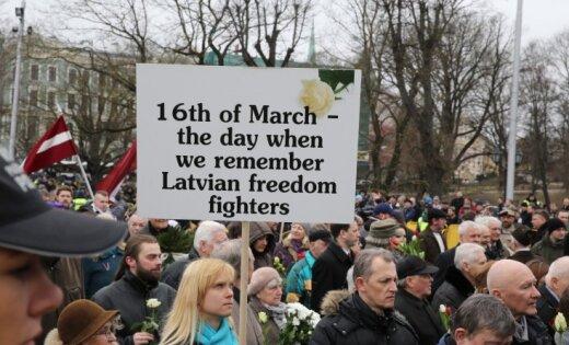 """МИД России назвал день легионеров """"постыдным сборищем убийц тысяч мирных граждан"""""""