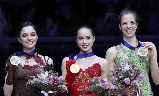 Российские фигуристки одержали двойную победу на чемпионате Европы