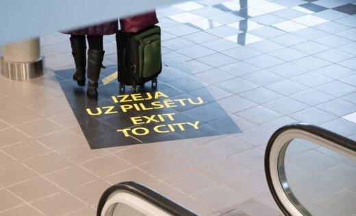 Число пассажиров в Рижском аэропорту выросло на 18,5%