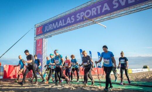 Проводится регистрация для участия в Юрмальском весеннем спортивном празднике