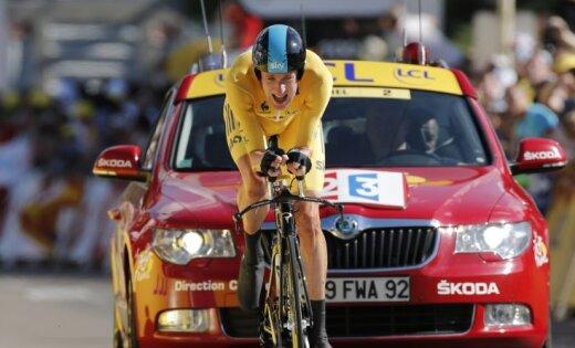 Viginss nostiprinās 'Tour de France' kopvērtējuma līderpozīcijā